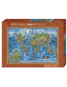 Puzzle 2000 pièces Heye :...