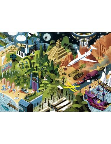 Puzzle 1000 pièces Heye : Alexandre...
