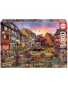 Puzzle 3000p educa colmar,...