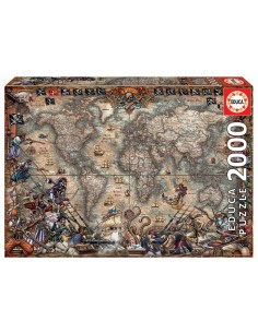 Puzzle 2000 pièces Educa :...