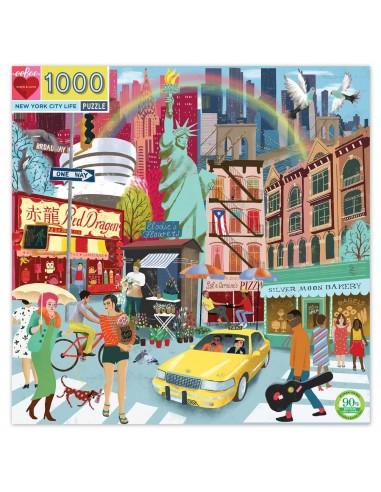 Puzzle 1000 pièces - Eeboo - La vie...