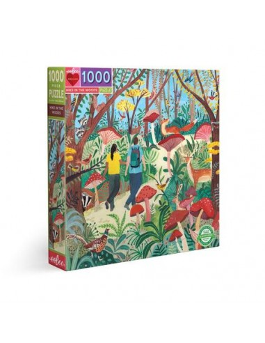 Puzzle 1000 pièces - Eeboo - Randonné...