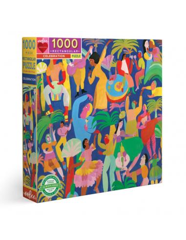 Puzzle 1000 pièces - Eeboo - Fête -