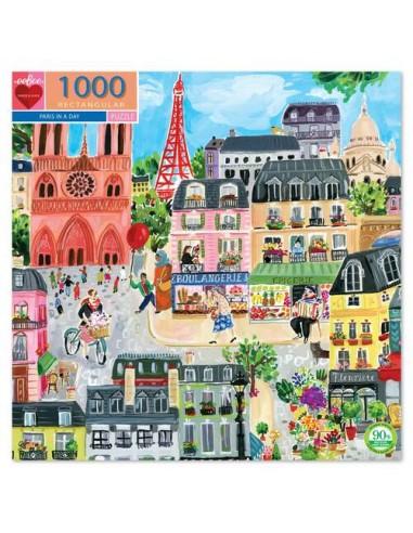 Puzzle 1000 pièces - Eeboo - Une...