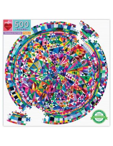 Puzzle 500 pièces - Eeboo - Motif...