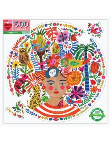 Puzzle 500 pièces - Eeboo - Optimisme -