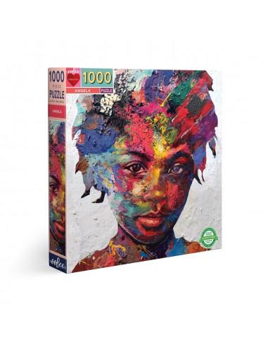 Puzzle 1000 pièces - Eeboo - Angela -