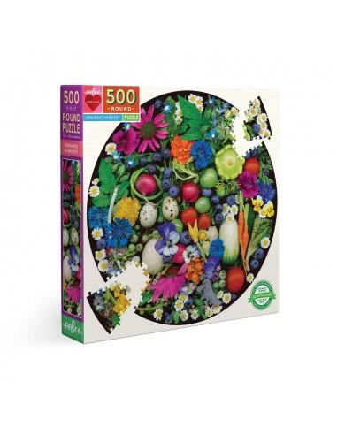 Puzzle 500 pièces - Eeboo - Récolte...