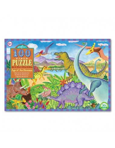 Puzzle 100 pièces - Eeboo - L'âge des...