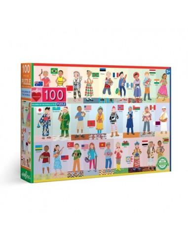 Puzzle 100 pièces - Eeboo - Enfants...