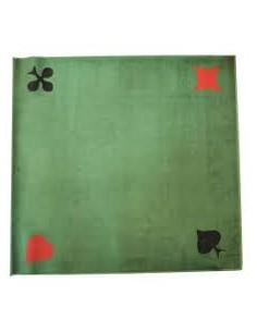Tapis cartes tissé - 77x77cm