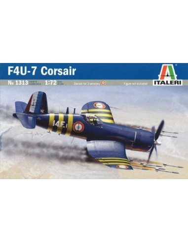 F4U Corsair  1/72  déco Française -...