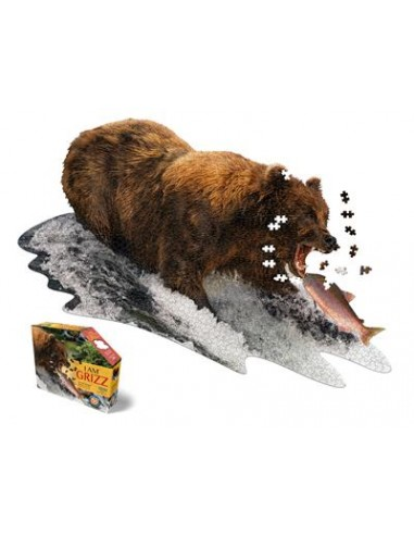 Puzzle 1000 pièces - I Am Grizzly -...