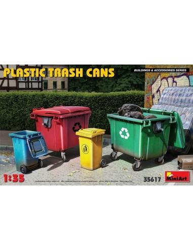 Bennes a ordure et poubelle 1/35 -...
