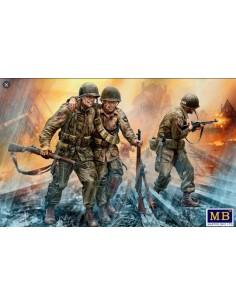 Soldats US 1944 1/35 - MB...