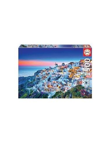 Puzzle 1500 pièces - Educa - Santorini -