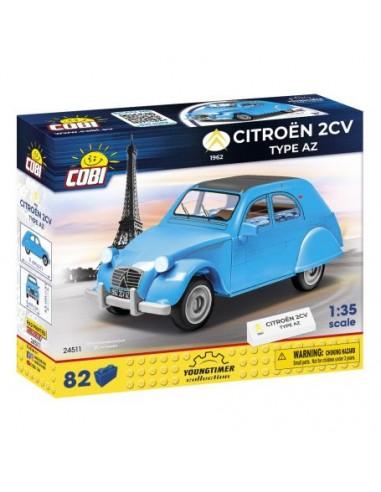 Citroën 2CV Type AZ Bleu et noir -...
