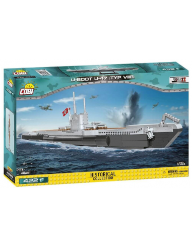 U-BOOT U-47 (TYP VIIB) - 422 Pcs -...