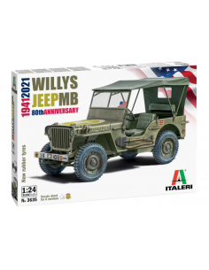 Jeep Willys MB 1941- 1/24 -...