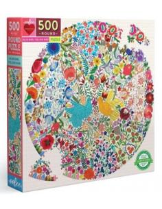 Puzzle 500 pcs - Eeboo -...