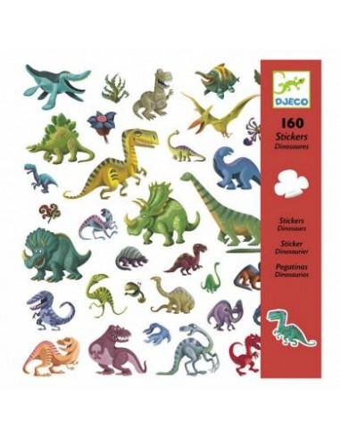 Stickers (x160) - Dinosaures