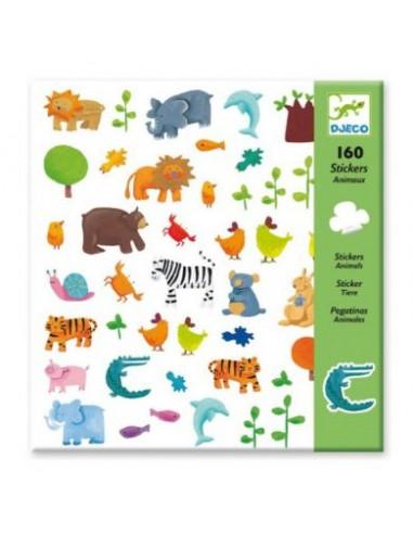 Stickers (x160) - Animaux