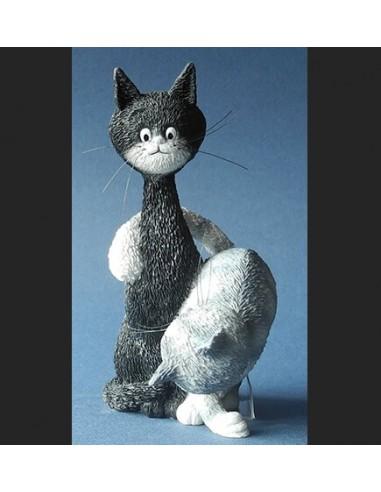 Figurine Chat Dubout - La Charmeuse