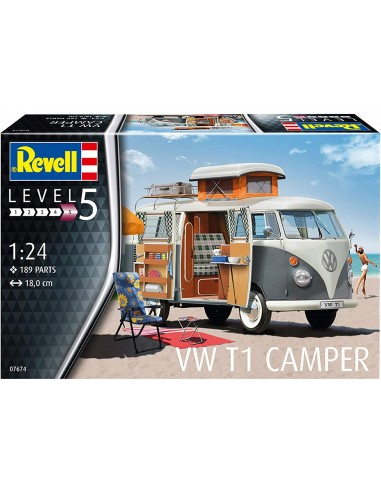 Maquette voiture Revell VW T1 Camper