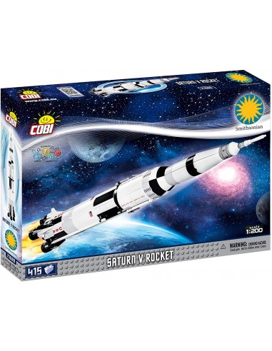 Cobi 21080 Saturn V Rocket 1:200 Fusé...