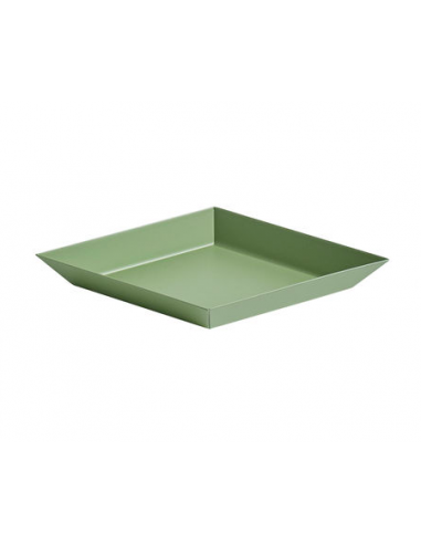 Plateau kaleido 19/11 vert olive