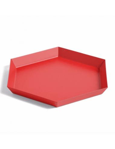 Plateau kaleido 22/19 rouge