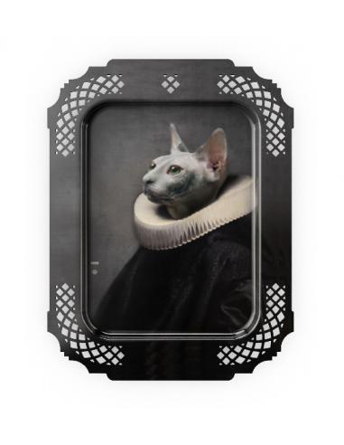 Plateau cadre le chat