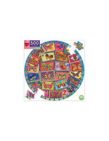 Puzzle 500 pièces - Eeboo - Vintage...