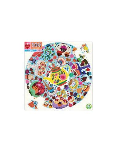 Puzzle 500 pièces - Eeboo - Tea Party -