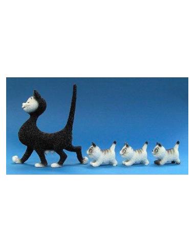 Figurine Chat Dubout - La Promenade...