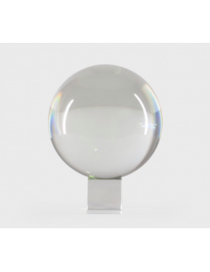 Sphère en cristal D 8 cm