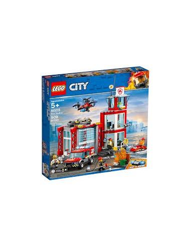 Lego City - La caserne de pompiers