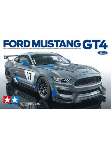 Maquette Voiture Tamiya Ford Mustang GT4