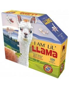 Puzzle - Lama - 100 pièces...