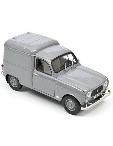 Renault 4L fourgonnette 1965 grises -...
