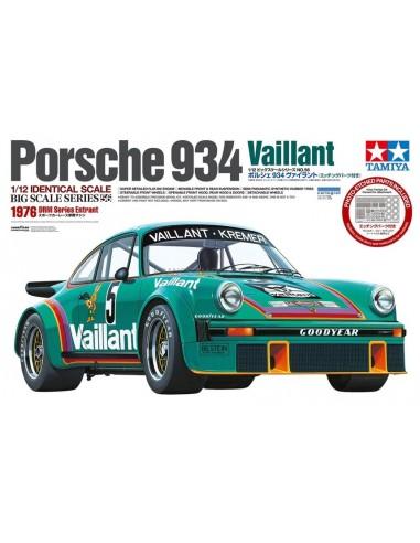 Maquette - Porsche 934 Vaillant 1/12...