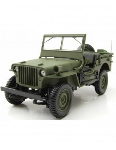Jeep 1962 kaki 1/18 - Norev -
