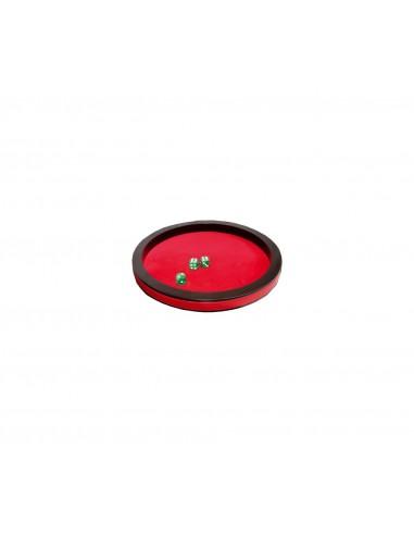 Piste de dés Prestige 30cm - Rouge