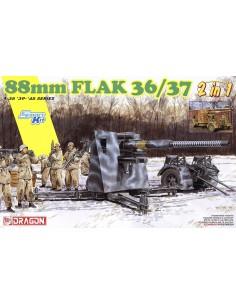 88 mm Flak 36/37 2 en 1...