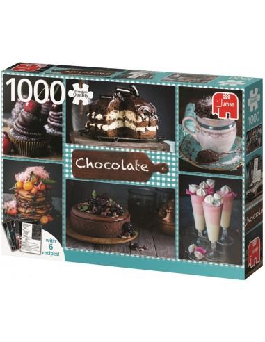 Puzzle 1000 pièces - Jumbo - Chocolat -