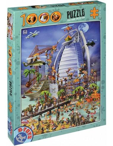 Puzzle 1000 pièces - D-Toys - Cartoon...
