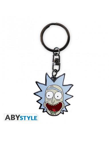 Porte-clés métal Rick & Morty - Rick