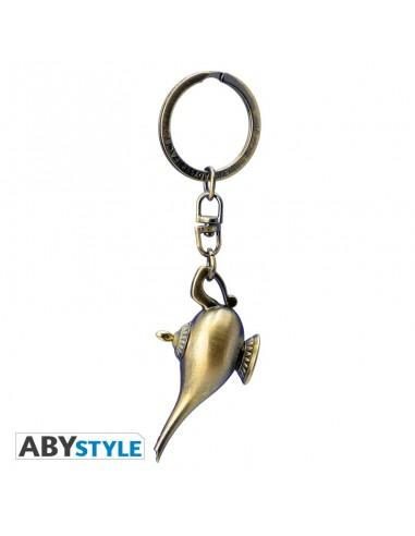 Porte-clés 3D Disney Aladdin - Lampe...