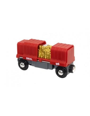 Wagon cargo rouge