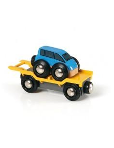 Wagon transport de voiture...